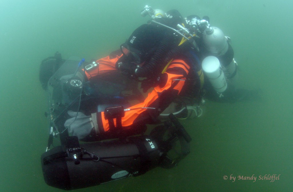 Diving the English channel as Guinea Pig for Dolphins