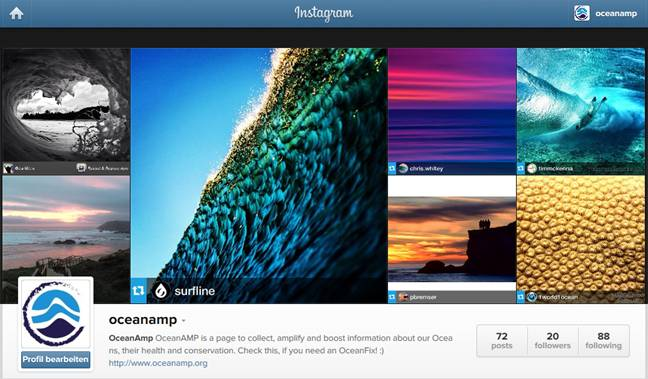 Get your Oceanfix on our Instagram