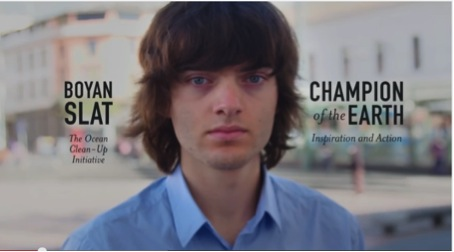 Boyan Slat cleans Ocean up- when dreams come true